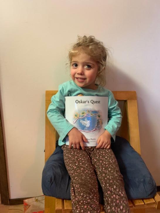 Our precious four year old, Abby.