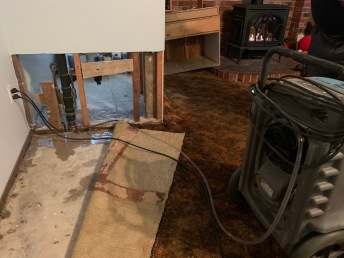 Carpet, Linoleum, Drywall...appreciate Restoration Team